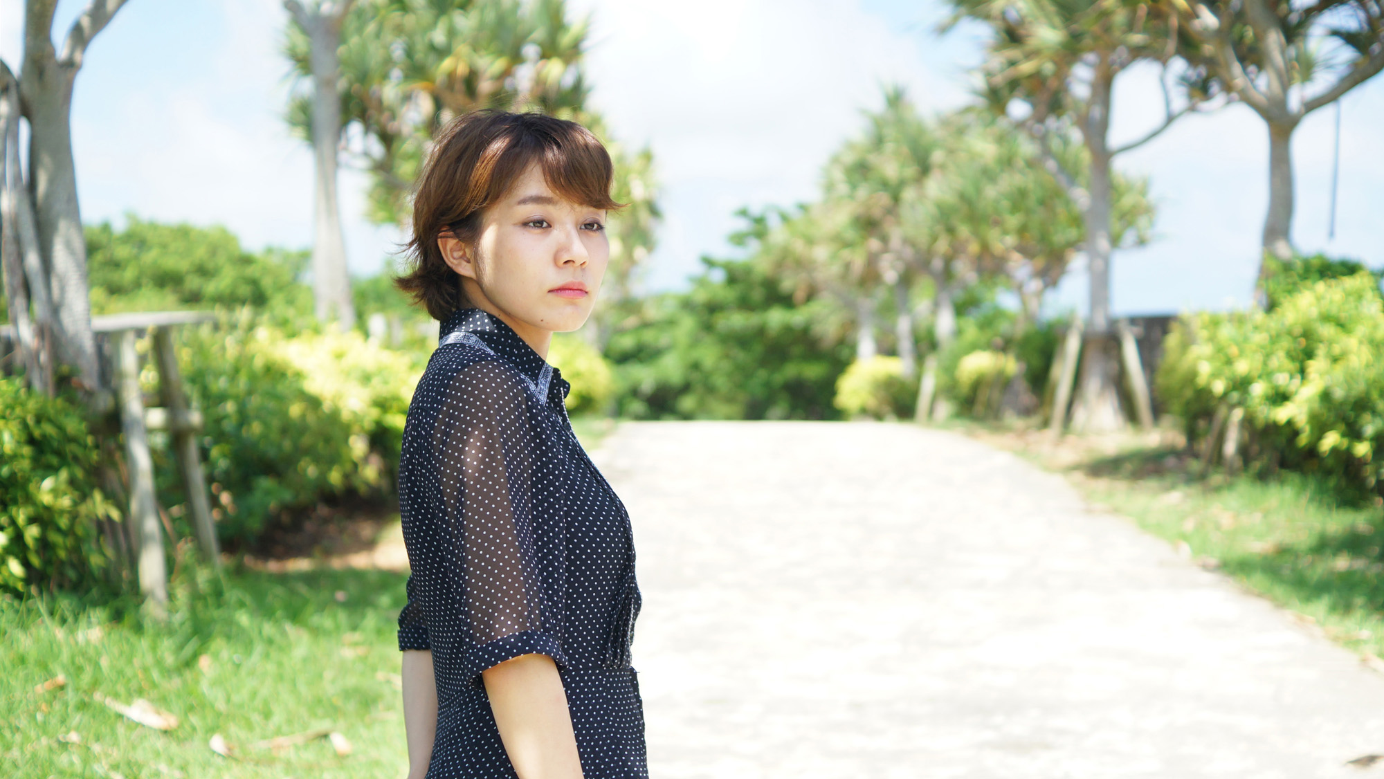 沖縄の写真 糸満撮影 model:yuka