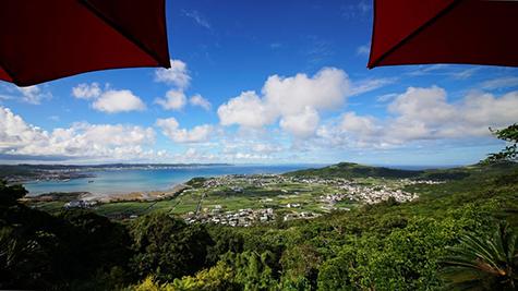 沖縄のロケーション Cafe terrace 1663